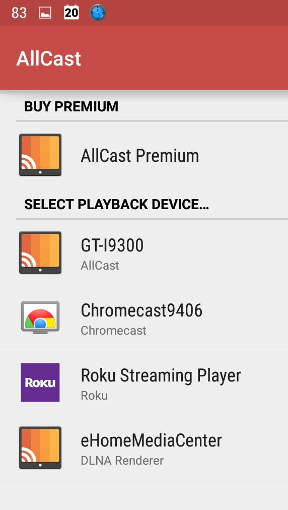 AllCast   LocalCast   Chromecast   Casting app   Android