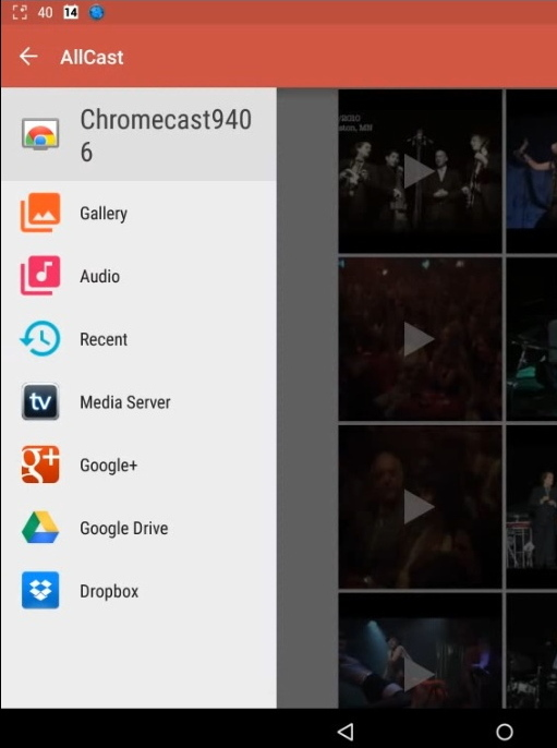 AllCast | LocalCast | Chromecast | Casting app | Android