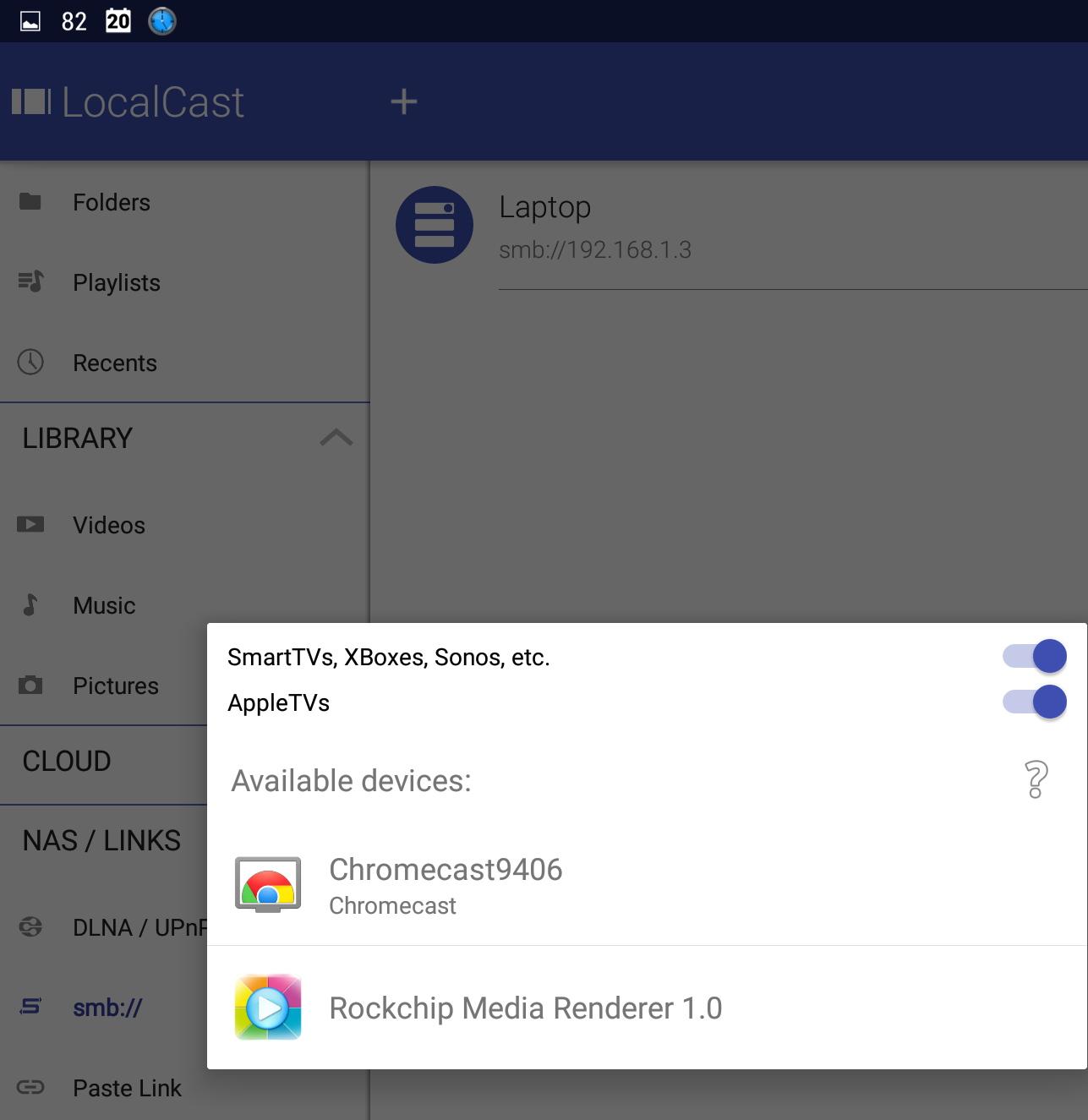 AllCast | LocalCast | Chromecast | Casting app | Android