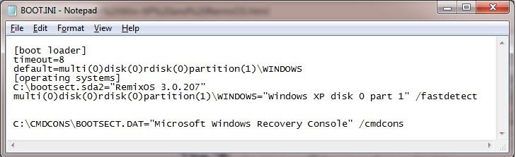 Dual Boot | RemixOS | Windows 1XP