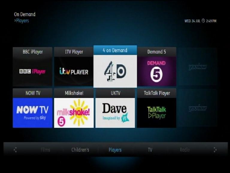 Youview Dvr Media Streamer Internet Tv Smart Tv Pvr
